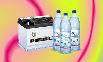 Важный вопрос: что можно залить вместо дистиллированной воды в аккумулятор?