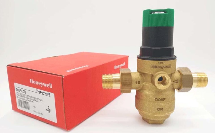 Основные характеристики редуктора давления воды Honeywell