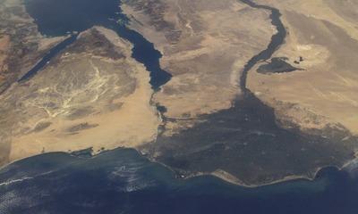 Где находится и какие особенности имеет устье реки Нил?