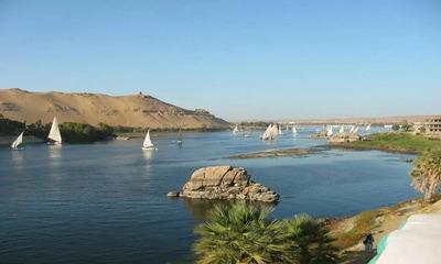 Сколько составляет глубина реки Нил?