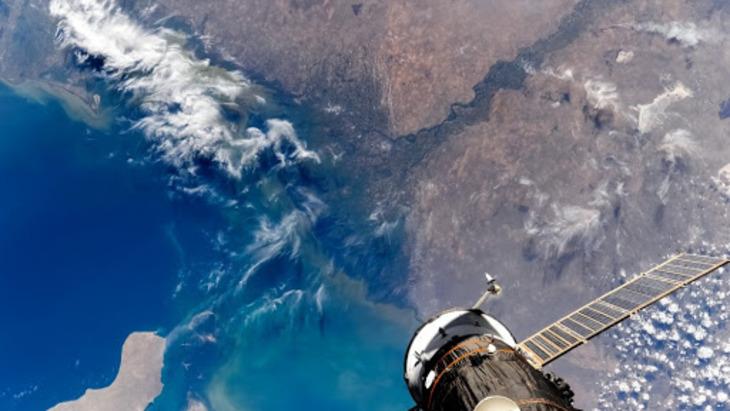 Географическое расположение, использование и внешний вид дельты реки Волга