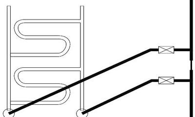 Все, что нужно знать о подключении полотенцесушителя к горячей воде