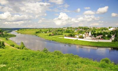 Изучаем показатели какая ширина реки Волги?