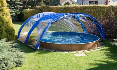 Как правильно выбрать павильон для каркасного бассейна, а также инструкция по самостоятельному изготовлению