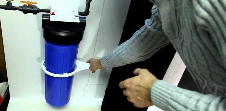 Пошаговая инструкция: как открутить фильтр для воды
