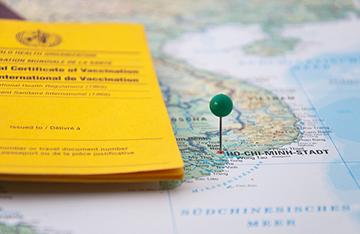 международный прививочный сертификат
