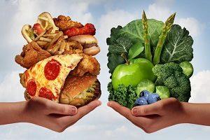 Холестериновая и бесхолестериновая еда