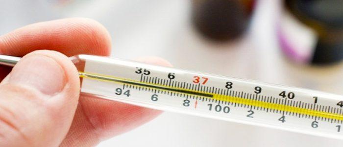 Температура и рак легких