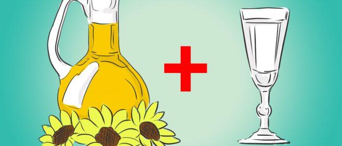 Водка и масло против рака